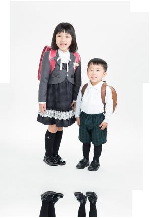 プランでの入園・入学撮影イメージ