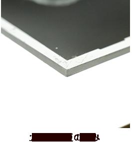 ガラス乾板の厚み