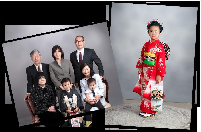 家族写真と七五三