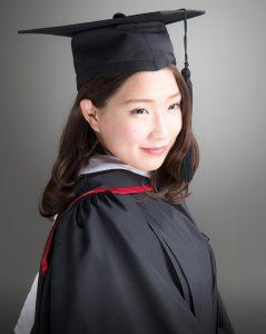 卒業写真見本