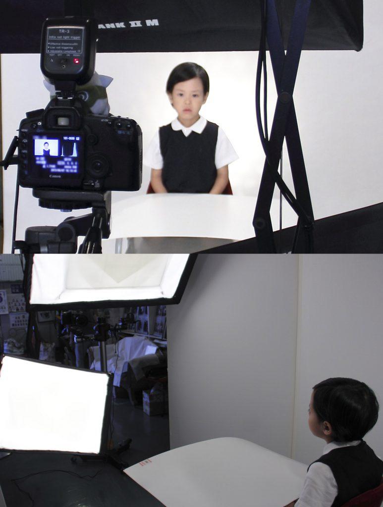 受験写真撮影方法2