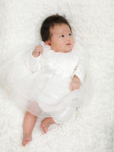 イワサキカホコ様赤ちゃんドレス修正