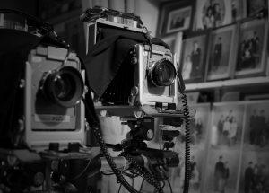 大判カメラ撮影