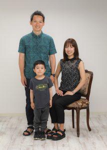 田中恭子様家族写真